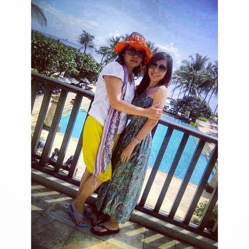 Happy holiday ♡ Bali Conrad Benoa Intsamoment holiday pool