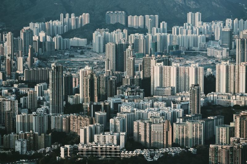 """""""Hong Kong : a million views"""" Skyscraper Cityscape City Crowded Architecture Modern Downtown District Moody Sky Aerial View Urban Geometry Built_Structure Built Structure Hong Kong Architecture Architecture_collection Urban Landscape Urban Skyline Urbanphotography Cityscape City Life Outdoors"""