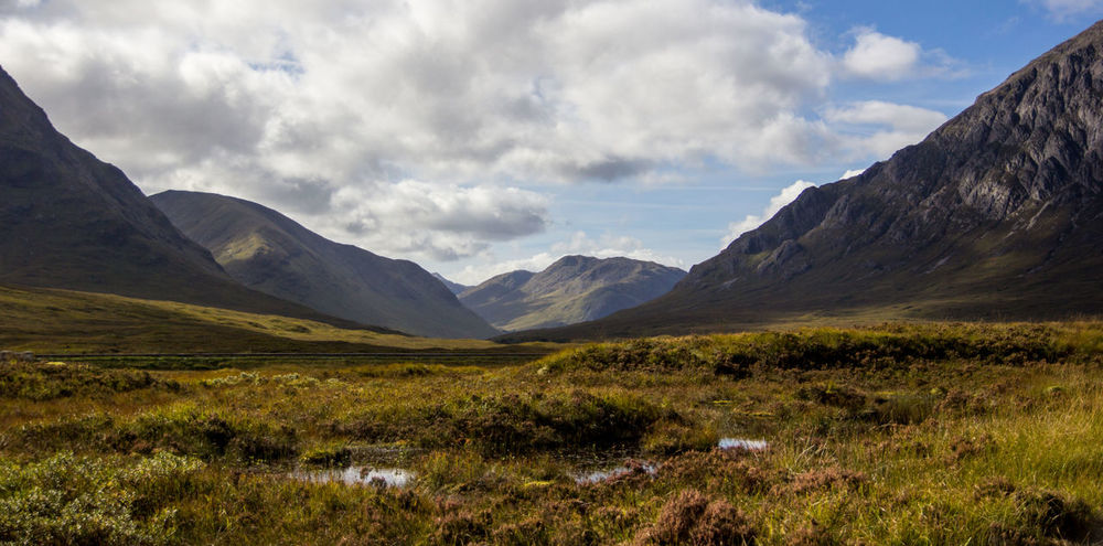 Awe Beauty In Nature Cultures Day Glencoe Glencoe Scotland Idyllic Landscape Moor  Mountain Nature No People Outdoors Scenics Tranquility Travel Destinations Vacations