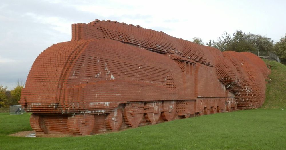 Darlingtons Brick train.