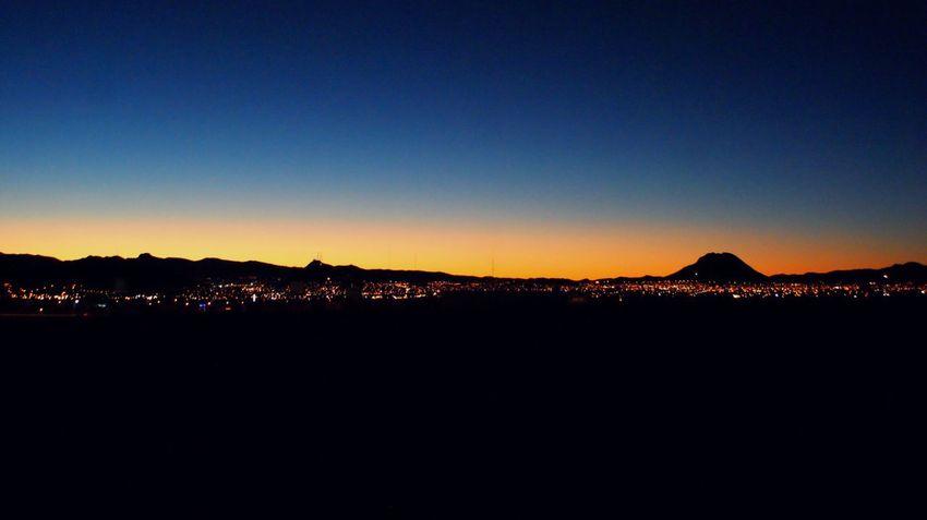 Blue & Orange Chihuahua Fresh On Eyeem  Mexico Night No People Outdoors Sky Strett Sunrise EyeEmNewHere A New Beginning