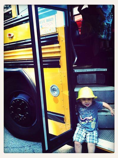 Touch-A-Truck.... School bus