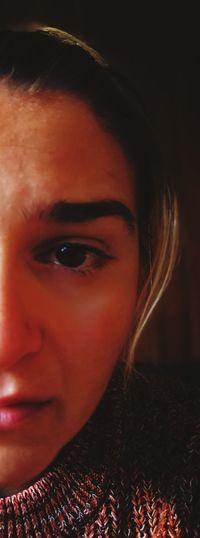 Emotion Crying Child Crying Eye Crying Girl No Make-up Young Women Beautiful Woman Portrait Human Eye Beauty Women Human Face Headshot Looking At Camera Black Background Hazel Eyes  Iris - Eye Eyeball Eyelash Eyesight Iris Vision