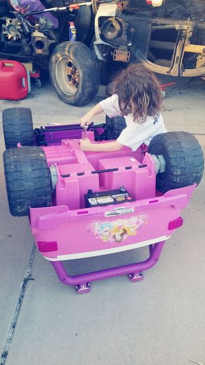 Daddy's Girl MyBabyGirl  Shelovescars Justlikedaddy Yougogirl Fixing Things