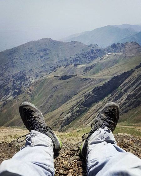 Hello World Tochal Iranian Boy Relaxing Moments Enjoying Life Mountain View Popular Photos Check This Out Nature IPhoneography Out Of The Box