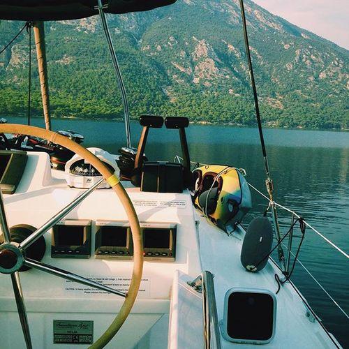 wish u were here -tag ur best friendz mom- Helia44 Gökova Catamaran Bodrum Vscocam Fountainepajot