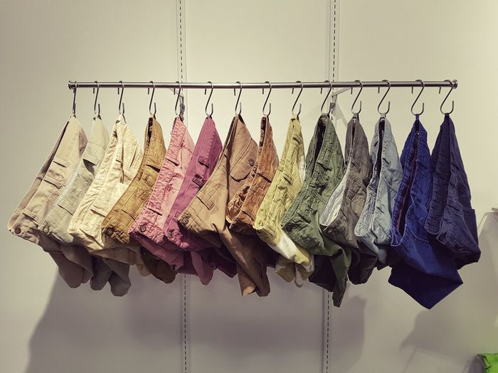 43 Golden Moments Garments Shorts Designing Fashion Washed Shorts Visual Merchandising Display