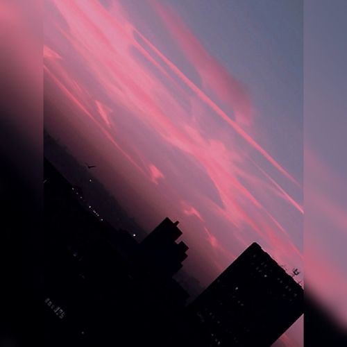 Urban pink streak sunrise❤ Sky No People Skylovers Winter Silhouette Streetphotography Urban Nature Vibrant Colors Cloud - Sky Architecture Skyscape City Sunrise Architecture Built Structure Vividcolors City Nature Outdoors City Bristol Seasons Bristol, England Wintertime Pink Streaky Clouds Adapted To The City Sunrise_sunsets_aroundworld Millennial Pink