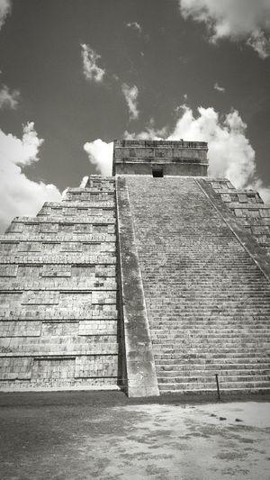 Chichen-Itzá Yucatan Mexico Maya Piramide Del Sol