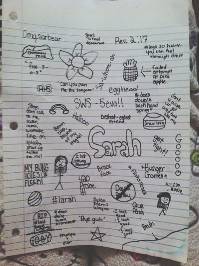 I hate alot of things in this world but sarahs not one of them. Bestfriend Inside Jokes Grunge This Is V White Girl