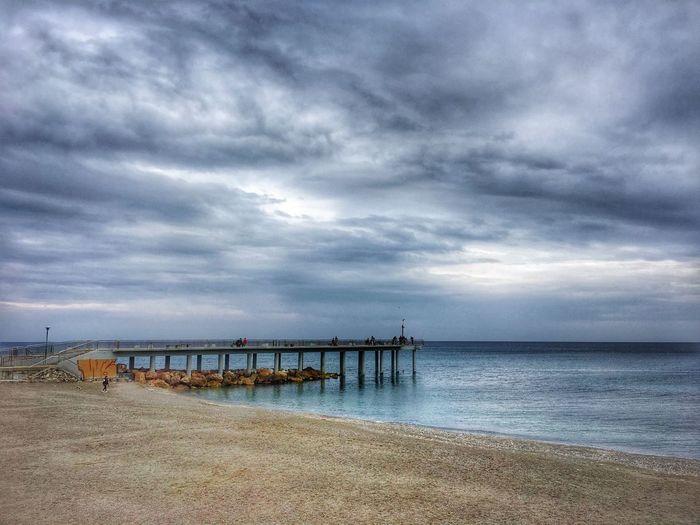 Cloud - Sky Sky Water Sea Beach Scenics - Nature Architecture