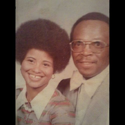 Rocking Row w/ the Fro , & Mark Wayne w/ the Propellar Bow ! 76 Tbt Parents