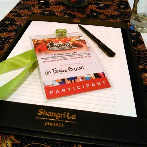 Kinesio Kinesiotape course Impact Shangrila jakarta sports medicine