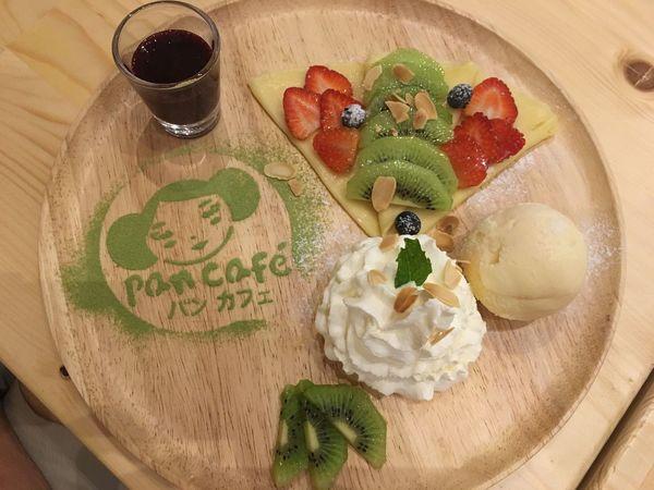 Hello World it is a Japan Desert That Call Mix Fruits Crepe From  Pan Cafe In Bangkok ThailandEnjoying Life EyeEm Eyeemthailand