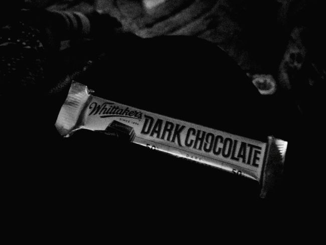 Dark chocolate Snack Temptation Food And Drink Ready-to-eat Choclate Dark Chocolate ♥ Chocolates Whittakerschocolate Monochrome Photography Monochrome