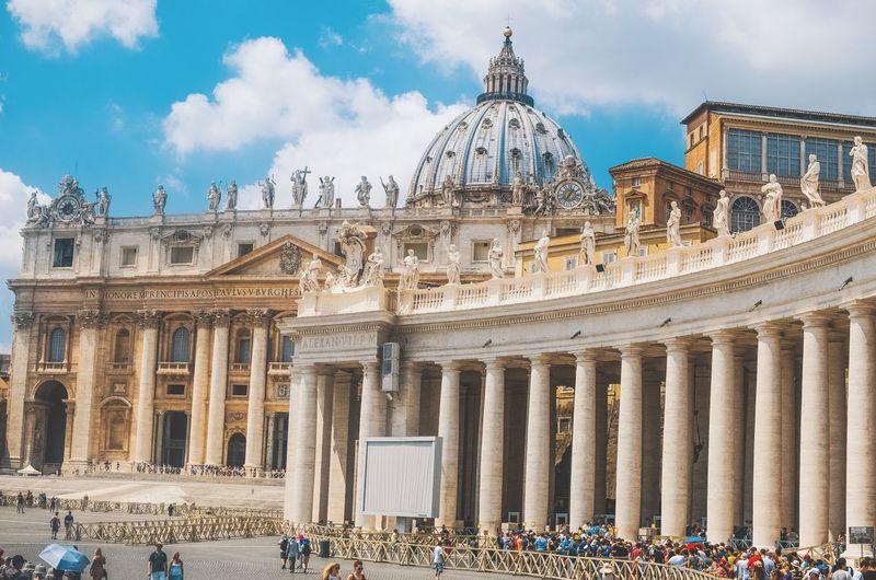 Vatican gates