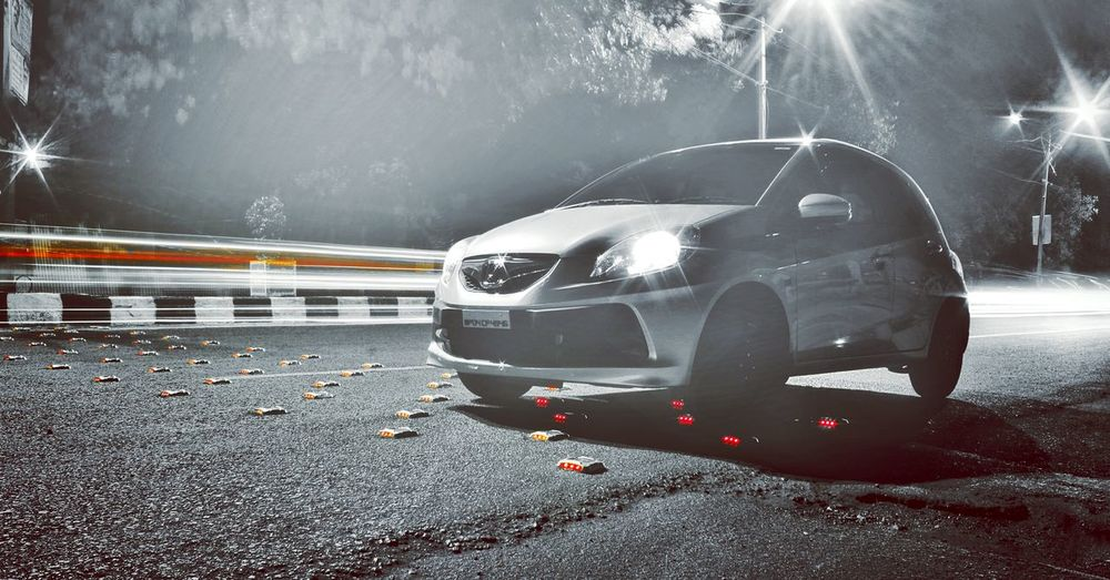 Honda Brio Nightlife Light And Shadow Speedtrails Lighttrails Photography Canon Canon1200d Need For Speed