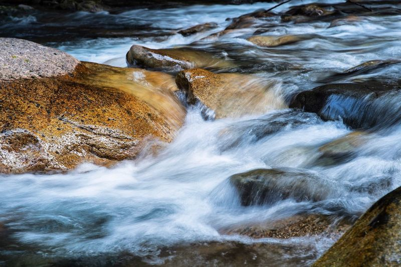 Water Beauty In Nature Motion Rock Scenics - Nature Nature Land Rock - Object Tranquility Flowing Water Power In Nature Day Outdoors Wave No People