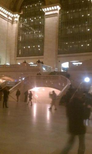 Grand Central Station Enjoying Life Vacation