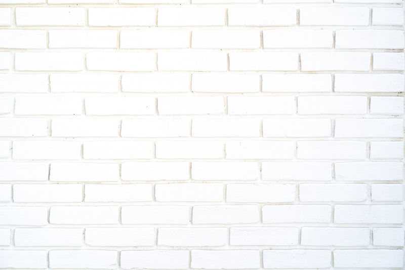 white brick wall with concrete lines, pattern for background Architecture Backdrop Background Blank Block Brick Cement Clean Concrete Construction Crack Decline Exterior LINE Material Paint Pattern Rectangle Rough Stains Structure Surface Texture Wall White