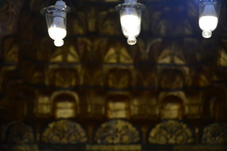 Mosque Lights Light And Shadow Nikonphotography Bursa Bursa Ulu Cami Mihrap Travelling Interior Design Turkish Culture
