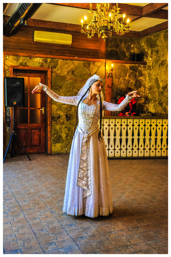 Travel Destinations Turistic Attractions Tredition Young Women Full Length Wedding Dress Women