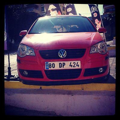 Volkswagen VW Vwpoloclub Vwpolom BcrTuning canon lip karlık Adana 9n3 9n3boavista 80dp424 zeetex instavolkswagen basık seyhan çukurova süleymandemirel red kırmızı Türkiye Turkey