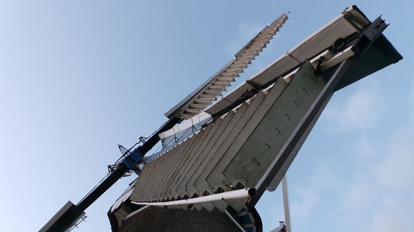Low Angle View Sky No People Outdoors Day Windmill Of The Day Smartphone Photos