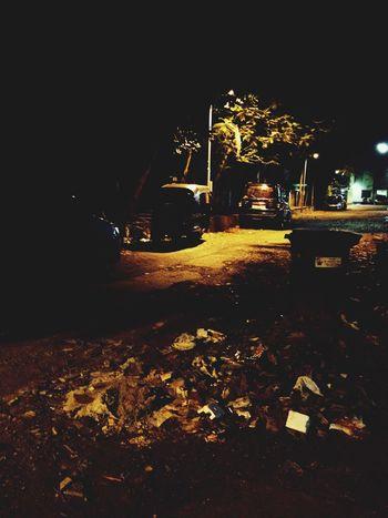 Pollution In My World Night
