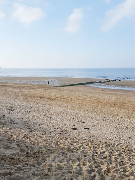 Long beaches Seaside Seasons Sandybeaches Horizon Blue Sky Loneliness