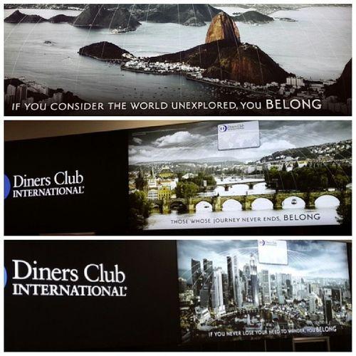 Красивые виды в рекламе Diners Club. Верхний и средний это что?