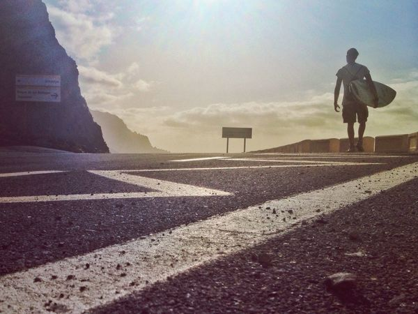 """Boulevard of surf dreams"" NevermindRecords Boulevard Surf Dream Traveling On The Road Walking Tenerife Canary Islands SPAIN Surf's Up The Great Outdoors - 2016 EyeEm Awards"