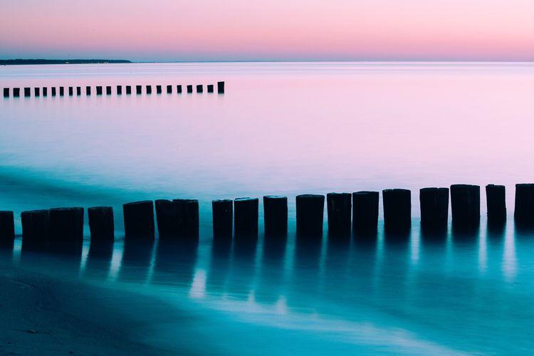 Silence at baltic sea
