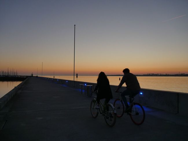 La Rochelle, France sunset cycling two people togetherness real people bicycle bonding full length Silhouette outdoors sky baby stroller leisure activity horizon over water men sea beauty in Nature Nature day Adult An Eye For Travel La Rochelle, France Sunset Cycling Two People Togetherness Real People Bicycle Bonding Full Length Silhouette Outdoors Sky Baby Stroller Leisure Activity Horizon Over Water Men Sea Beauty In Nature Nature Day Adult (null) Capture The Moment Enjoying Life