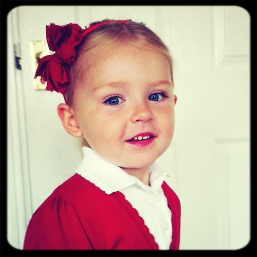 Ellie's First Day At Seaham Harbour Nursery :-)