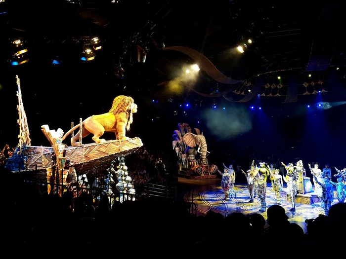 Festival of the Lion King Musical Play Disneyland Hong Kong Disneyland Festival Of The Lion King Lion King  Popular Music Concert Arts Culture And Entertainment