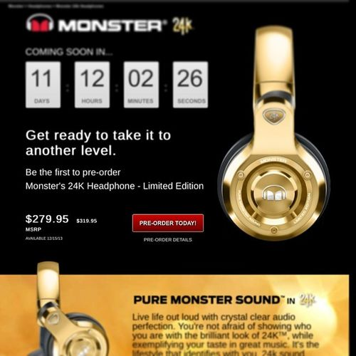 I want this for x'mas ....... Monster24k