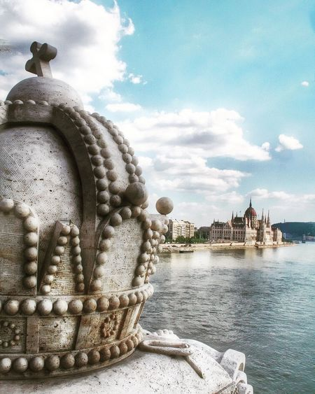 Buda's Crown Check This Out Showcase: February Crown Parliament House Budapest Bridge Monuments Sky