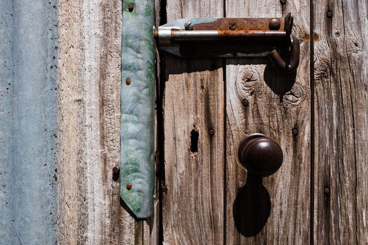 Door to Hut