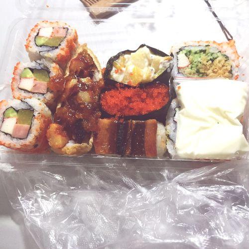 放假不回家,吃个寿司好好犒劳自己一下啦
