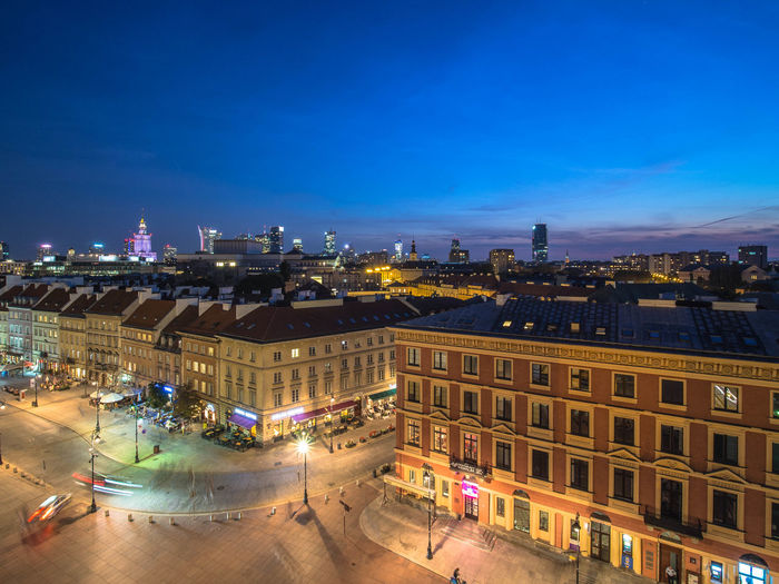 Poland Polska Warsaw Warsaw Old Town Warsaw Poland Warsaw Nights Warszawa  Architecture Building Building Exterior Built Structure Capital Capital Cities  City City Life Cityscape Cloud - Sky High Angle View Illuminated Night No People Oldtown Poland 💗 Sky Street