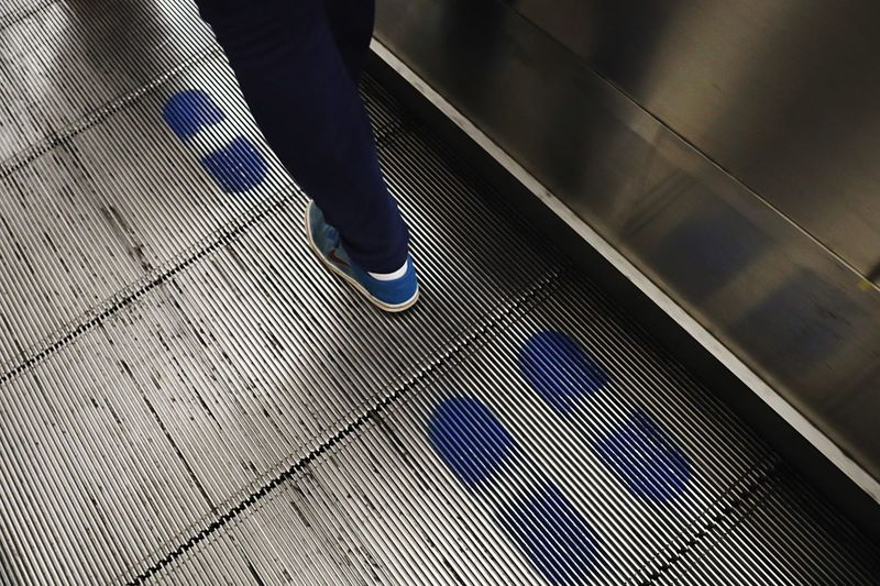 Escalator and footprints in London Underground, UK Tube Uk Brexit United Kingdom Underground Station  United Kingdom London Underground London Footprints Moving Stairs Low Section Human Body Part Body Part Human Leg Real People One Person Pattern Escalator Walking Lifestyles Metal Human Foot Flooring Standing Unrecognizable Person Shoe High Angle View Tiled Floor Flooring Shoe