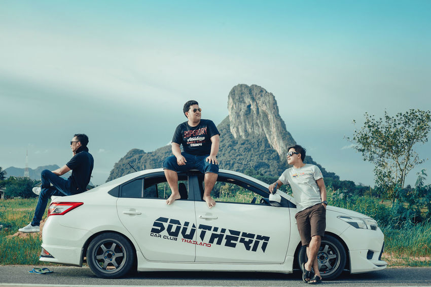 adventure @Phatthalung Adventure Club Along The Way Cool Firnds Friends Man Adventure Car Friend Friendly Go Higher Outdoors Race Car Sky Vios