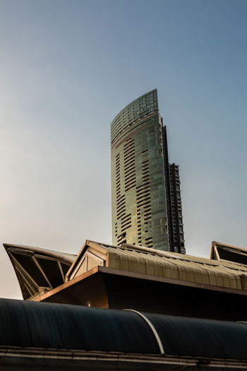 Built Structure Architecture Low Angle View Building Exterior Sky Building City Clear Sky Office Building Exterior Tall - High Skyscraper No People Tower Modern Day Office Nature Outdoors Low Angle View City