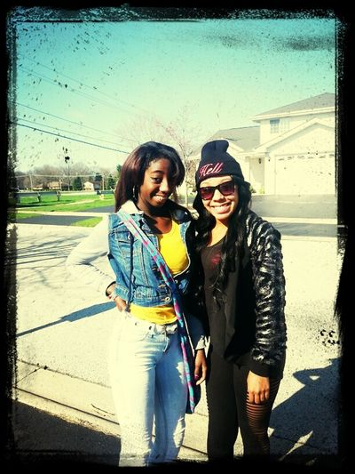 Check This Out That's Me Me Nd Mi Sis Frm The Bad Girls Club At Mi House Paula Frm Bad Girl Club