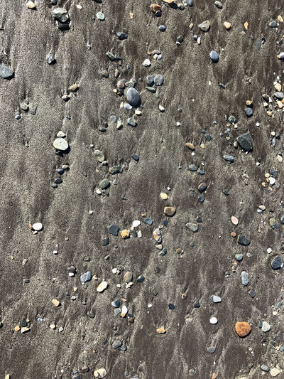 Beach stones at surf Backgrounds Beach Close-up Day Full Frame Nature Nature No People Outdoors Sand Stones Textured