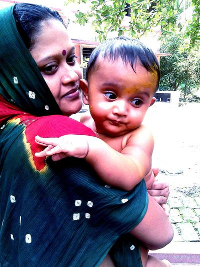 Taking PhotosMother and Child. Village scape. Beautiful portrait. Every Picture Tells A Story