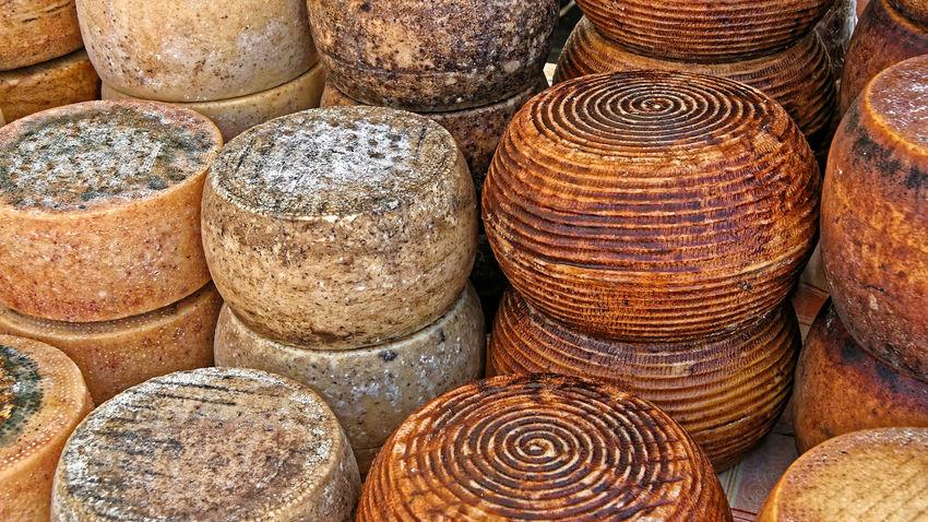 Formagio Sardegna. Italia 2007 Cheese Sardinia Italy Formagio Sardegna Italia Käse Sardinien Italien