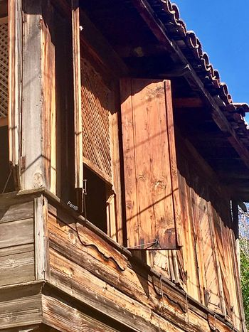 İbradı Güncesi-Fsn® EyeEm Best Shots Voyager Gezgin Seyyah Oldstyle Vintage Düğmelievler Woodenhouse Architecture Wood - Material Built Structure Building Exterior No People Day Roof Outdoors