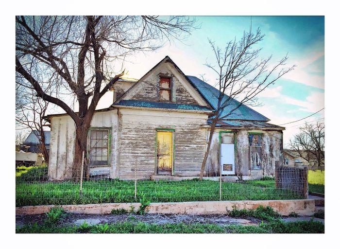 Vintage Architecture Old House IPhoneography